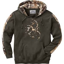 legendary whitetails men u0027s camo outfitter hoodie ebay
