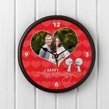 personalized anniversary clocks clocks forever together personalized anniversary clock