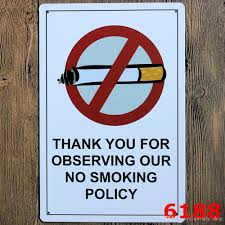 Metal Signs Home Decor by 2017 2017 Vintage Metal Signs No Smoking No Photos Signs 20x30cm