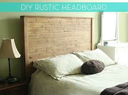 how to make a diy rustic modern bed frame and headboard curbly