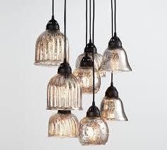 pottery barn ceiling lights kenzie mercury chandelier pottery barn