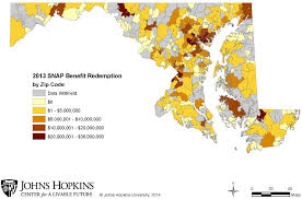 Baltimore County Zip Code Map tracking snap in maryland center for a livable future