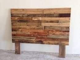 Reclaimed Wood Headboard Fabulous Wood Queen Headboard Reclaimed Recycled Pallet Wood
