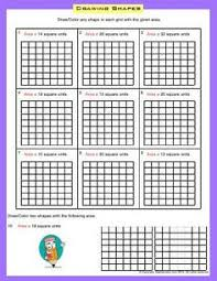 worksheet finding area count or multiply to find the area of
