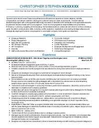 Hr Generalist Sample Resume by For Hr Generalist