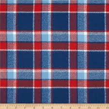 kaufman mammoth flannel plaid americana discount designer fabric