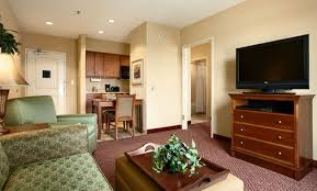 Bed And Living Homewood Suites Hotel In Forsyth Decatur Il