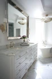 bathroom with mirrorsheron design bathrooms beaded mirror large