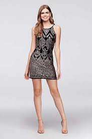 black prom dresses short u0026 long styles david u0027s bridal
