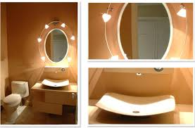 Orange Powder Room Comfortable Powder Room Ideas Home Furniture And Decor
