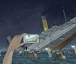 Titanic Funny Memes - if titanic sank today titanic know your meme