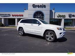 2016 jeep grand cherokee 2016 bright white jeep grand cherokee overland 112068256