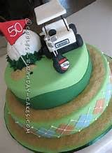 golf cake ideas sheet cake 5093