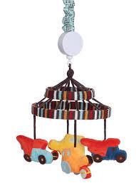 Zutano Crib Bedding Zutano Construction Musical Mobile Nursery Mobiles