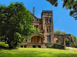 sharon pa victorian stone mansion on hill abandone u2026 flickr