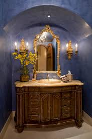 Powder Room Painting Ideas - powder room paint ideas traditional phoenix with wooden wall mirrors