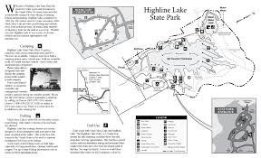 Colorado Highway Map by Highline Lake State Park Outthere Colorado
