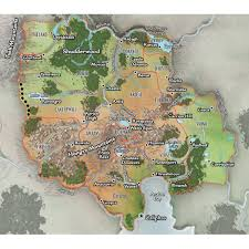 Pathfinder World Map by View Rpol Pathfinder Carrion Crown Adventure Path Maps And