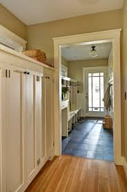 mudroom entry entry craftsman with schoolhouse light fixture mud