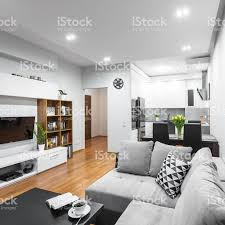 Interior Design Open Floor Plan Trendy Open Floor Plan Idea Stock Photo 611895696 Istock