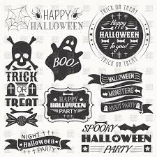 halloween stickers vector image 40542 u2013 rfclipart