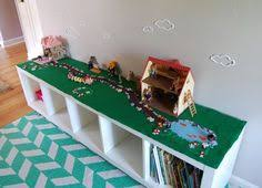 Legos Table Turn A Bookshelf Into A Storage Unit For The Kid U0027s Puzzles Games