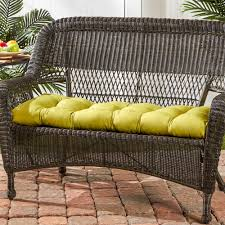 home fashions outdoor porch swing or bench cushion short