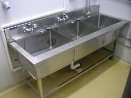 Kitchen Sink Download - Three compartment kitchen sink