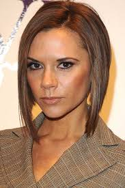 asymmetric fine hair bob hairstyle over 40 for round face for 2015 25 best victoria beckham bob hairstyles bob hairstyles 2017