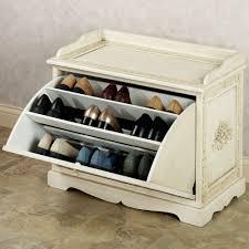 furniture elegant wall mount coat rack with shoe storage bench oak