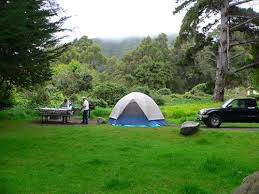 camping best big sur california campgrounds at the southern end
