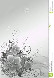 silver flowers silver flowers royalty free stock image image 17481636