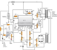 how to make simple dc ac inverter youtube wiring diagram components