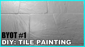 diy tile painting byot 1 youtube