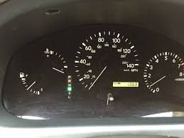 lexus rx300 snow how to rx300 instrumental cluster