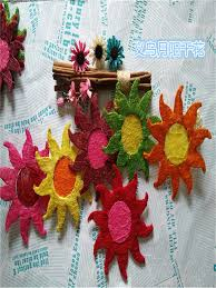 supply flower receptacle accessories sun flower christmas craft