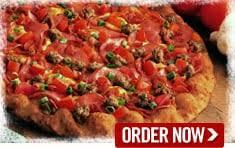 round table pizza near me now hearty bacon supreme creamy garlic sauce crisp bacon tender ham