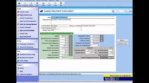 Auto Loan Spreadsheet Car Lease Calculator Car Lease Calculator Excel Youtube