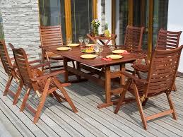 teak patio dining table alternative teak outdoor furniture all home decorations