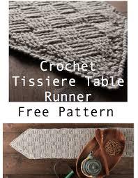 Crochet Table Runner Pattern Crochet Table Runner Tissiere Pattern Crochet News