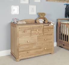 Baby Drawers With Change Table Acorn Oak Baby Changing Table Chest Of Drawers By The Baby