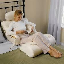 cheap bed rest pillow the bedlounge hypoallergenic bed rest pillow gadget flow