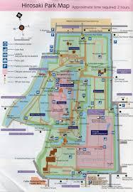 Good Map Hirosaki Castle Park In Aomori