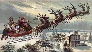 santa sleigh and reindeer just how fast can santa s sleigh fly