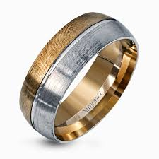 two tone mens wedding bands two tone wedding bands