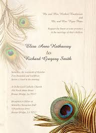 Peacock Wedding Programs 25 Peacock Wedding Invitation Templates U2013 Free Sample Example