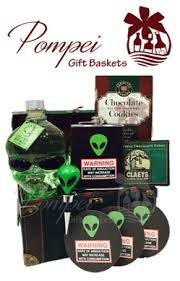 Tequila Gift Basket Abduction Warning Vodka Gift Basket By Pompei Baskets