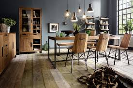 Teak Esszimmer Bank Sitzbank 180 Cm Teakholz Metall Industrial Style Mca