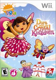 amazon com dora the explorer dora saves the crystal kingdom