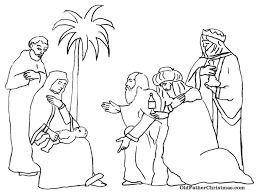 three wise men coloring pages free here home bible heroes three